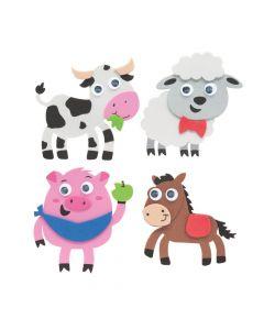 Farm Animal Magnet Craft Kit