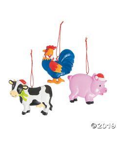 Farm Animal Ornaments