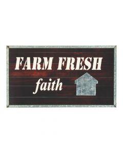 Farm Fresh Faith Sign