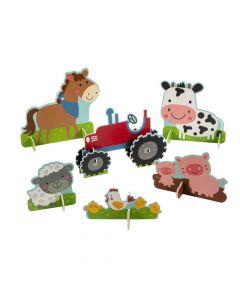 Farm Party Centerpieces