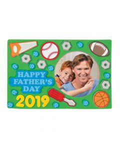 Father's Day Picture Frame Magnet Craft Kit