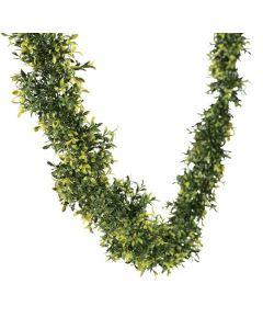 Faux Leaf Greenery Garland