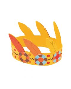 Feather Crown Craft Kit