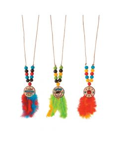 Feather Necklace Craft Kit