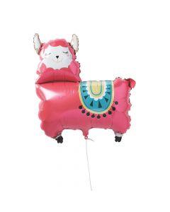 Fiesta Baby Llama Mylar Balloon