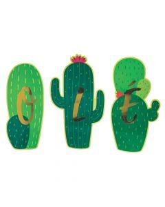 Fiesta Cactus Ole Cutouts