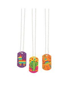 Fiesta Dog Tag Necklaces