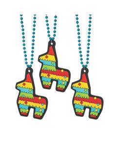 Fiesta Donkey Jumbo Charm Beaded Necklaces