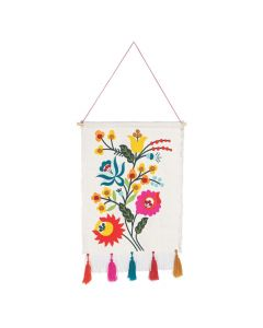 Fiesta Floral Wall Hanging