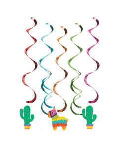 Fiesta Fun Hanging Swirls