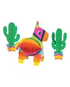Fiesta Fun Honeycomb Centerpiece Set