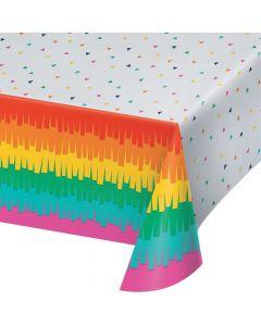 Fiesta Fun Plastic Tablecloth
