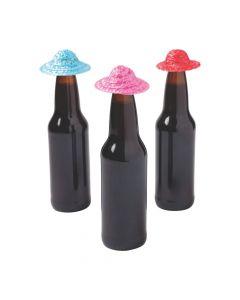 Fiesta Mini Sombrero Hats Bottle Toppers