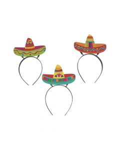 Fiesta Sombrero Head Boppers