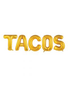 Fiesta Taco Mylar Balloons