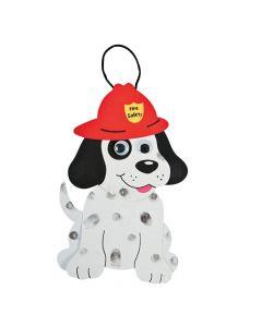 Fire Safety Dalmatians Craft Kit