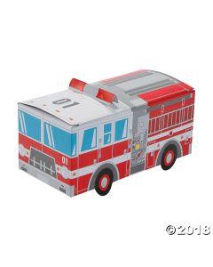 Fire Truck Favour Boxes