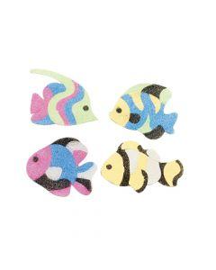 Fish Sand Art Magnet Craft Kit