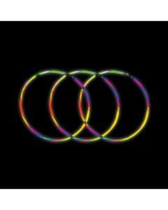 Five-color Glow Swizzle Necklaces