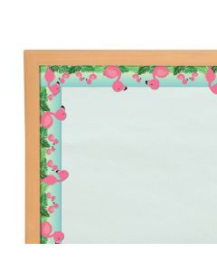 Flamingo Bulletin Board Borders