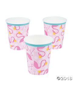 Flamingo Paper Cups