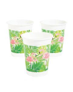 Flamingo Plastic Cups