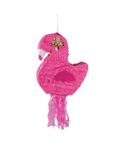 Flamingo Pull-String Pinata