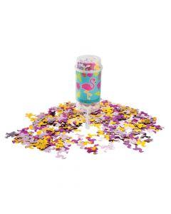 Flamingo Push-Up Confetti Poppers
