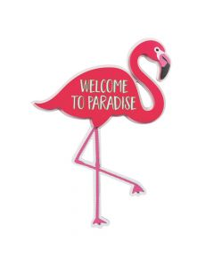 Flamingo Welcome Door Sign