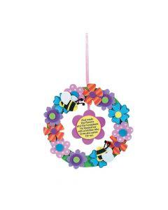 Flower Wreath for Mom Craft Kit