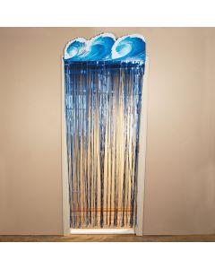 Foil Hang Loose Fringe Door Curtain