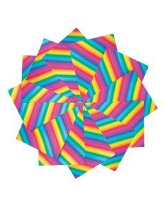 Foil Rainbow Cardstock Pack