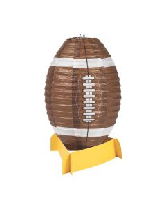 Football Lantern Centerpiece
