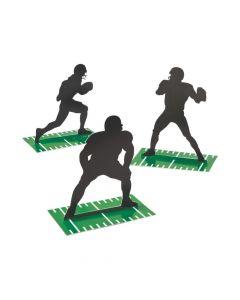 Football Silhouette Centerpieces