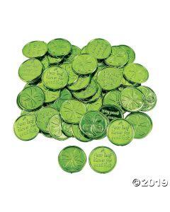 Four-leaf Clover Good Luck Coins