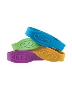 Friends Rubber Bracelets
