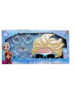 Frozen 10PC Accessories with Shaped Glasses