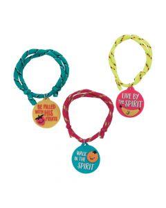 Fruit of the Spirit Rope Bracelets