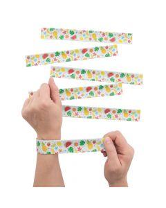 Fun Fruit Slap Bracelets