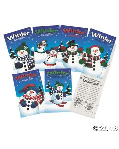 Fun Winter Activity Pads