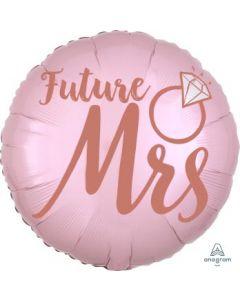 Future MRS Blush Wedding Balloon