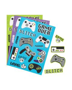 Gamer Sticker Sheets