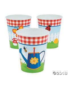 Garden Birthday Party Cups
