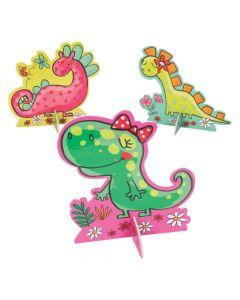 Girl Dinosaur Centerpieces