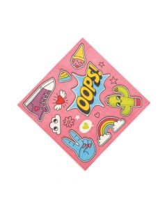 Girl Squad Party Luncheon Napkins