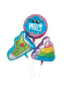 Girl Squad Party Mylar Balloon Set