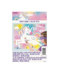 Glitter Unicorn Birthday Party Game