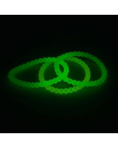 Glow-in-the-Dark Beaded Bracelets
