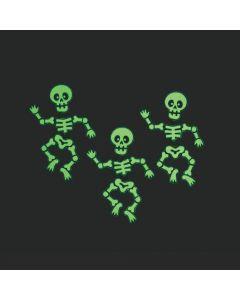 Glow-in-the-Dark Dancing Skeleton Necklaces