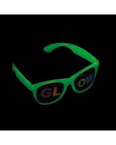 Glow-in-the-Dark Glow Pinhole Glasses
